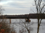 UP's Chippewa River Bridge on former CNW Chippewa Sub